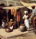 Edwin Lord Weeks Outside An Indian Dye House