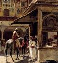 Edwin Lord Weeks Street Scene In India