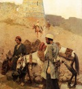 Edwin Lord Weeks Traveling In Persia