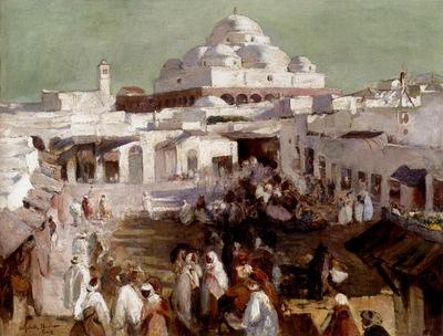Elizabeth Nourse The Mosque In Tunis