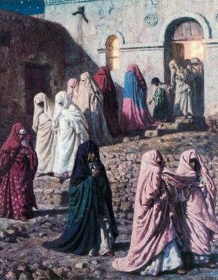 Etienne Dinet A Village