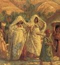 Etienne Dinet Arab Women And Children