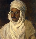 Etienne Dinet Portrait Of Ahmed Es Seghir