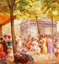 Eugene Auguste Francois Deully La Marche Aux Fleurs