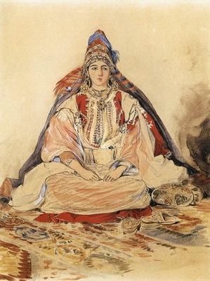 Eugene Delacroix Jewish Bride