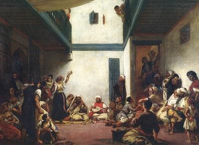 Eugene Delacroix Jewish Wedding In Morocco
