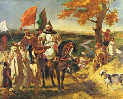 Eugene Delacroix Shaykh
