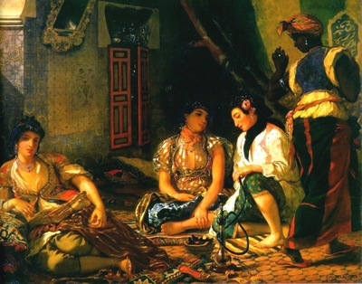 Eugene Delacroix Women Of Algiers In Their Apartment