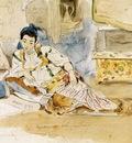 Eugene Delacroix Mounay Ben Sultan