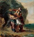 Eugene Delacroix Selim And Zuleika