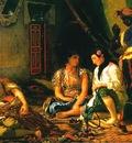 Eugene Delacroix Women Of Algiers In Their Apartment