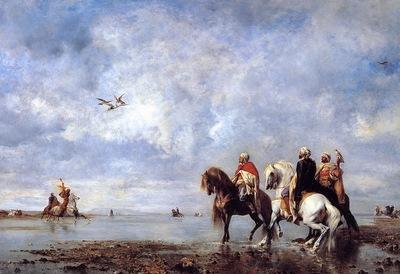 Eugene Fromentin The Heron Hunt