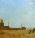 Eugene Fromentin Les Tombeaux Des Califes Au Caire