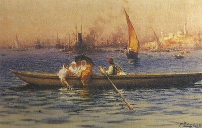 Fausto Zonaro Boat
