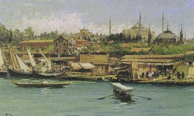 fausto zonaro istanbul