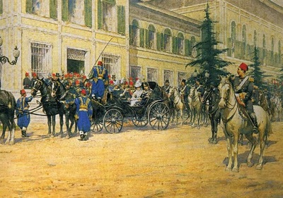 Fausto Zonaro Ottoman Soldiers