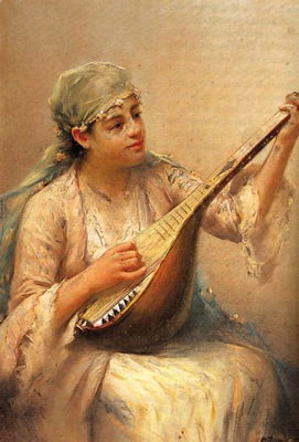 Fausto Zonaro Playing Music