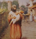 Fausto Zonaro A Mother