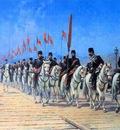 Fausto Zonaro Ottoman Cavalry