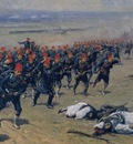 Fausto Zonaro Ottoman Soldiers At War