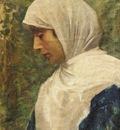 Fausto Zonaro Ottoman Woman