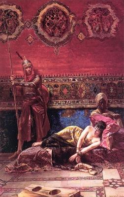 Ferencz Franz Eisenhut The Pashas Concubine