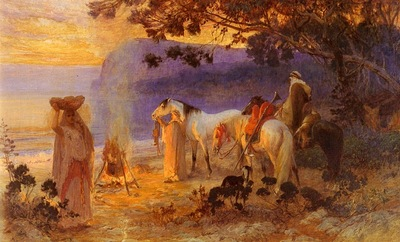 Frederick Arthur Bridgman On The Coast Of Kabylie