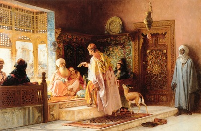 Frederick Arthur Bridgman The Messenger