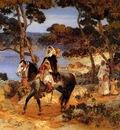 Frederick Arthur Bridgman A Coastal Trail