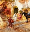 Frederick Arthur Bridgman A Street In Algeria