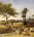 Frederick Arthur Bridgman An Arab Village