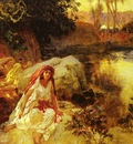 Frederick Arthur Bridgman At The Oasis