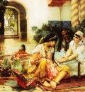Frederick Arthur Bridgman In A Village El Biar Algeria