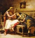 Frederick Arthur Bridgman Queen Of The Brigands
