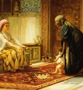 Frederick Arthur Bridgman The First Steps