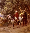Frederick Arthur Bridgman The Return
