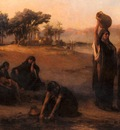 Frederick Arthur Bridgman Women Drawing Water From The Nile