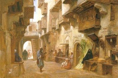 Frederick Goodall An Arabic Street