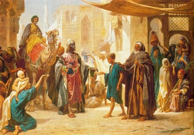 Frederick Goodall Sheik Distributing Alms