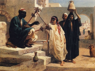 Frederick Goodall The Song of the Nubian Slave