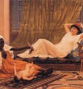Frederick Goodall A New Light In The Harem