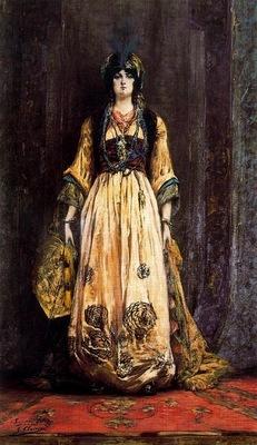 Georges Clairin Costume Pour Une Fete Orientale