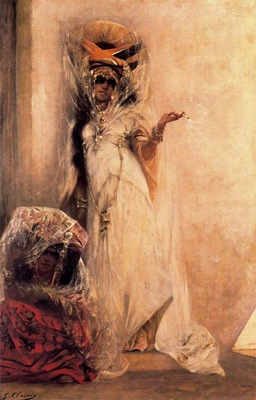 Georges Clairin Deux Femmes Ouled Nail