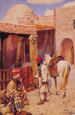 Giulio Rosati The Carpet Seller