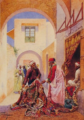 Giulio Rosati The Carpet Sellers