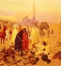 Giulio Rosati An Arabian Market