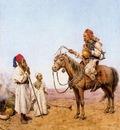 Giulio Rosati Rencontre Dans Le Desert