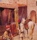 Giulio Rosati The Carpet Seller