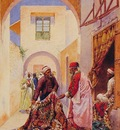 Giulio Rosati The Carpet Sellers
