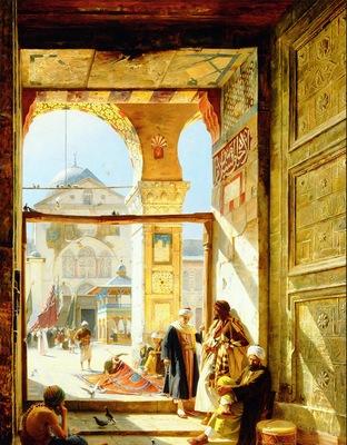 Gustav Bauernfeind Umayyad Mosque